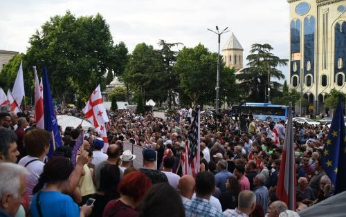Gürcüstanda vəziyyət necədir?