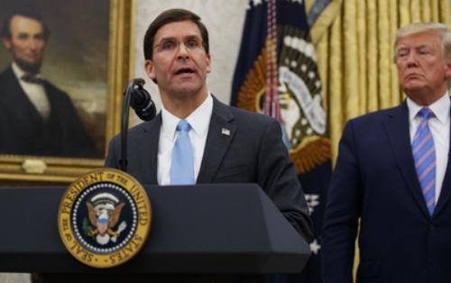 Трамп расхвалил нового главу Пентагона