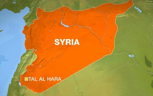 Syria state media says possible Israeli attack in country's south