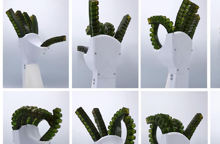 """Ağrını hiss edən və özünü bərpa edən robot """"əl"""" hazırlanıb"""