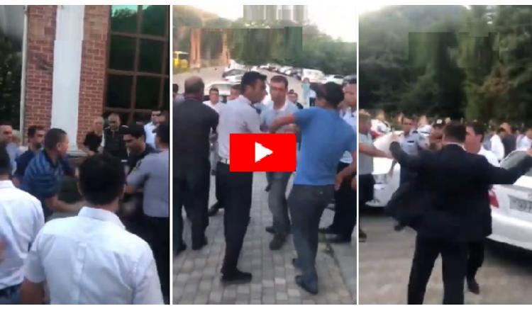 """Правоохранительные органы: """"В полицейских и налоговиков полетели камни, им нанесли телесные повреждения"""""""