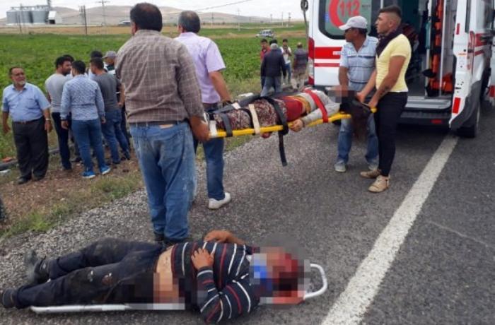 Türkiyədə ağır yol qəzası – 7 ölü, 9 yaralı - VİDEO
