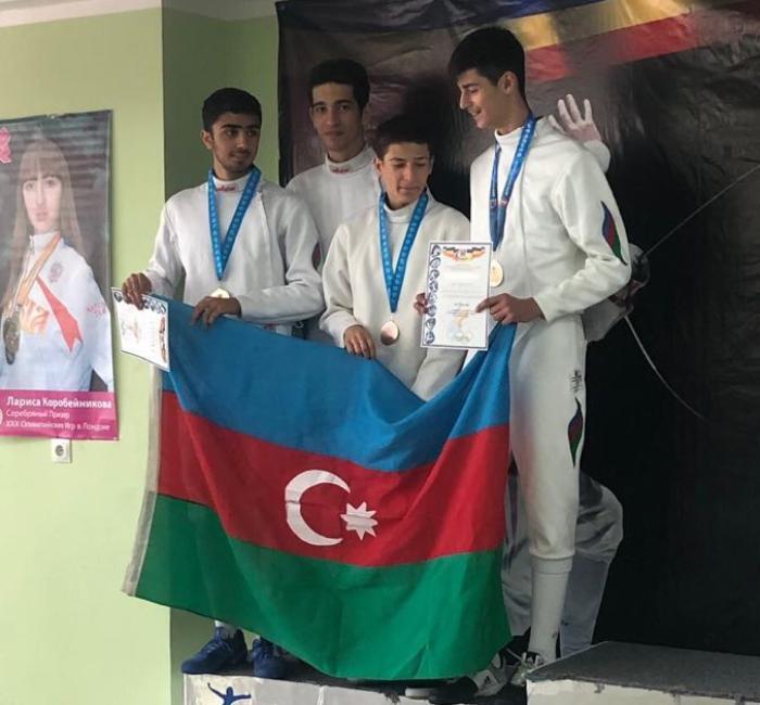 Erməni idmançı yarışda Azərbaycanı təmsil edib qalib gəldi və bayrağımzı qaldırdı - FOTO - VİDEO
