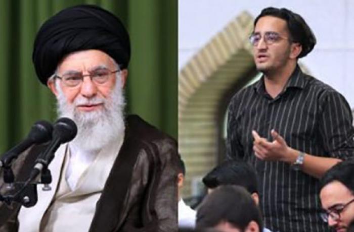 İranlı gənc Xamneyi ilə görüşdə hökuməti tənqid etdi