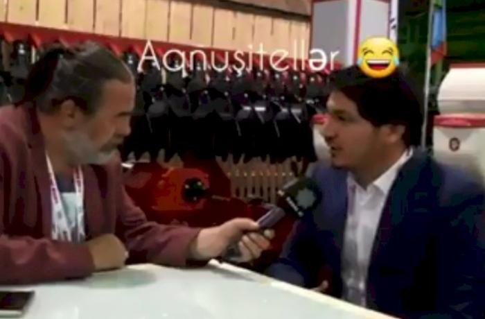 """İqbal Məmmədovun oğlunun Türkiyə KİV-ə müsahibəsi: """"Aqnuşitellər"""" istehsal edirik - VİDEO"""