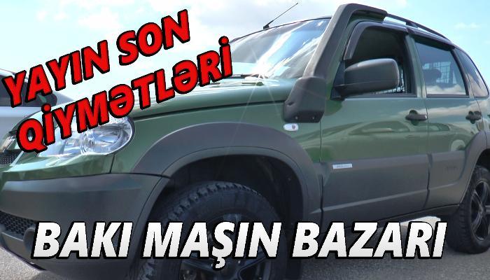 Maşın bazarında yayın son qiymətləri - VİDEO