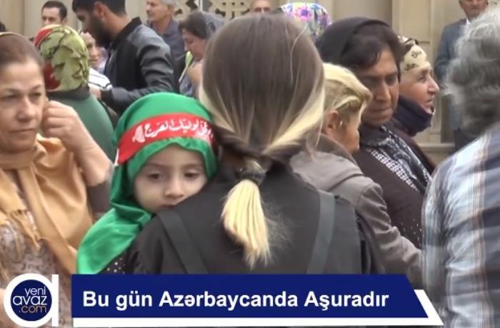 Azərbaycanda Aşura mərasimləri keçirildi - VİDEO