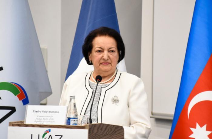 Elmira Süleymanovaya yeni vəzifə verildi