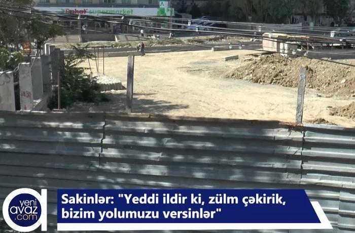 """""""Papanin"""" sakinləri yollarının açılmasını istəyirlər - VİDEO"""