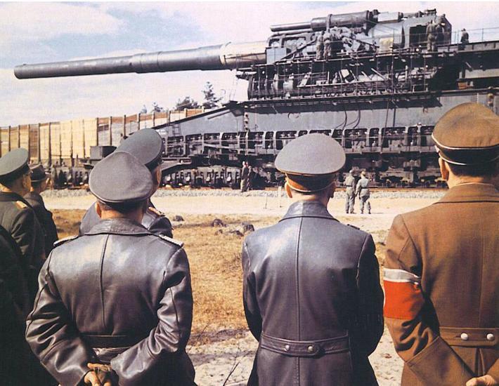 "Hitlerin qeyri-adi silahı - ""Kök Qustav"" - FOTOLAR"