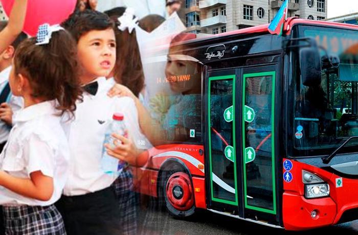 Məktəbli uşaqlar avtobusa pul verməsin - Deputatdan TƏKLİF