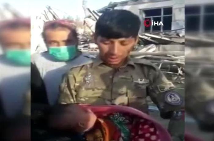 Əfqanıstanda xəstəxana partladıldı: Yaralılar arasında körpələr də var - VİDEO