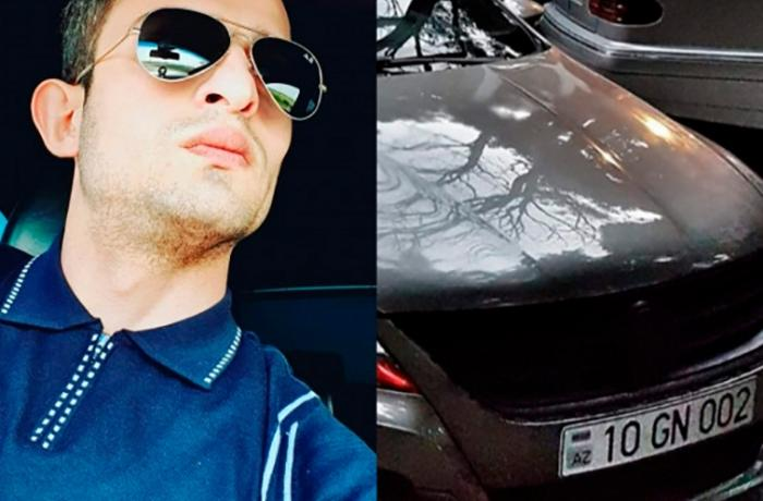 "Bakıda ""Volkswagen Passat"" Gülgünü belə vurub öldürdü - ANBAAN VİDEO"