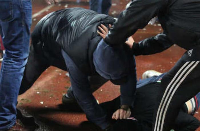 Rusiyada azərbaycanlılarla ermənilər arasında kütləvi dava - ANBAAN VİDEO