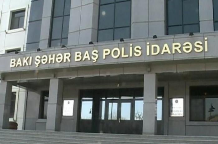 """""""Polisə hücum"""" xəbəri ilə bağlı RƏSMİ AÇIQLAMA"""