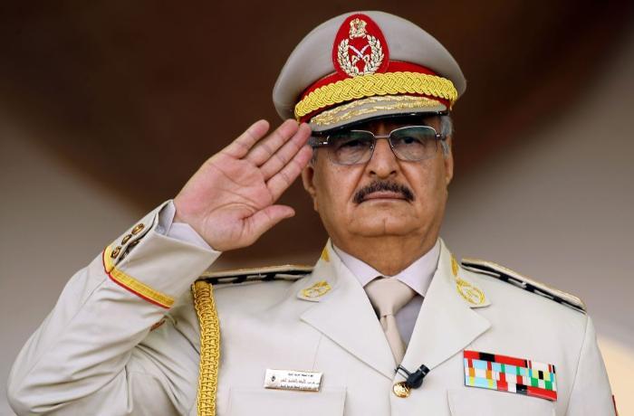 General Haftar atəşkəsə hazır olduğunu açıqladı