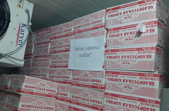 """""""Bizim Market""""də 12 ton saxta yağ aşkarlandı - FOTO"""