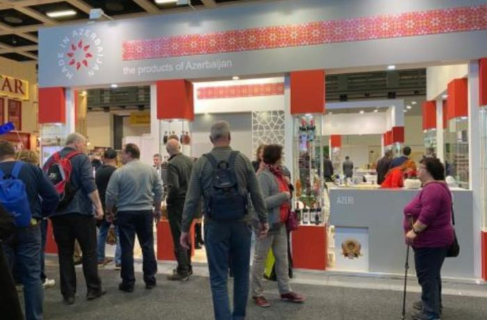 Azerbaijan-made products exhibited in Germany