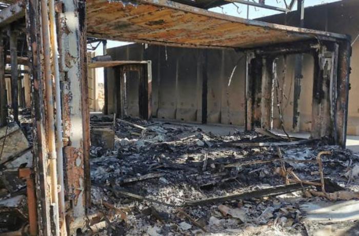 ABŞ-ın Bağdaddakı səfirliyi yenidən raket atəşinə tutulub