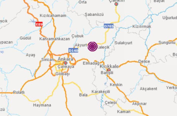 Ankarada ard-arda 3 güclü zəlzələ baş verdi - VİDEO