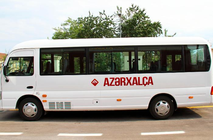 """""""Azərxalça"""" 717 min manatlıq avtobus alır"""
