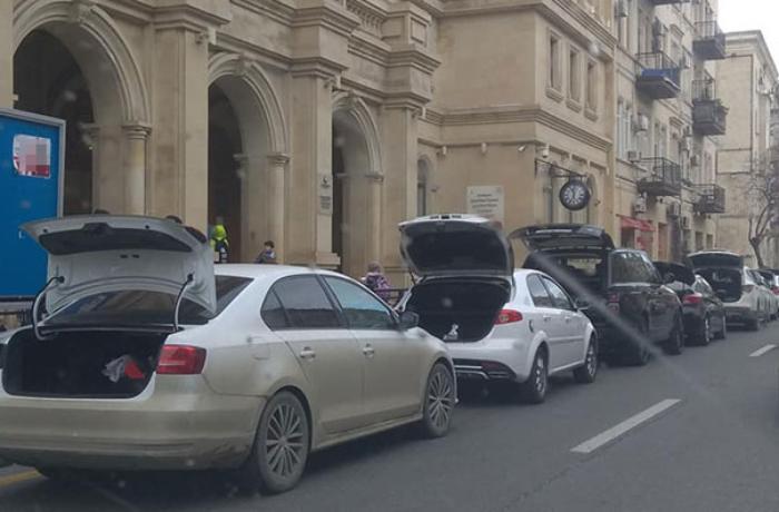Avtomobillərin nömrələrini gizlədən sürücülər 500 MANAT CƏRİMƏLƏNDİ