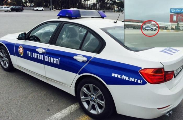 Yol polisinin dairəvi yolu 7 dəfə fırlanmasının səbəbi açıqlandı - RƏSMİ