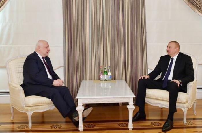 President Ilham Aliyev receives OSCE Parliamentary Assembly President