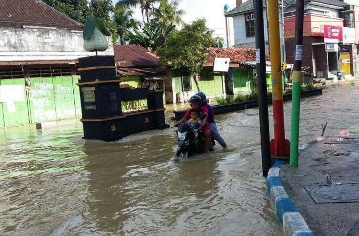 İndoneziyada şiddətli yağışlar həyatı iflic etdi
