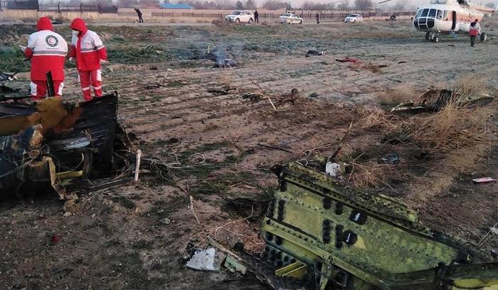 İrandan Ukrayna təyyarəsinin vurulması ilə bağlı HESABAT