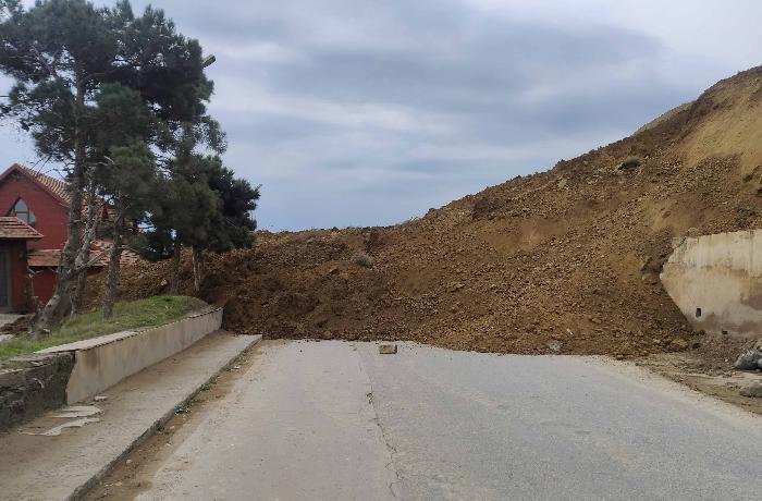 Nazirlik rəsmisindən Badamdardakı sürüşmə ərazisi ilə bağlı AÇIQLAMA