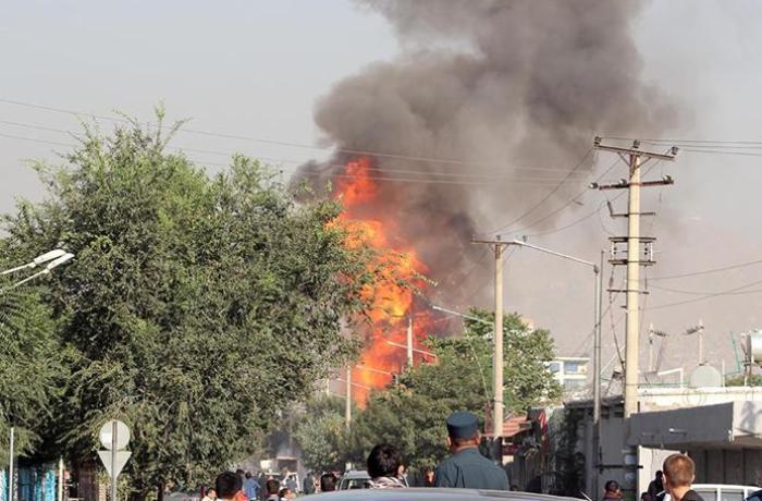 Əfqanıstanda hərbi məntəqəyə bombalı hücum - 9 ölü