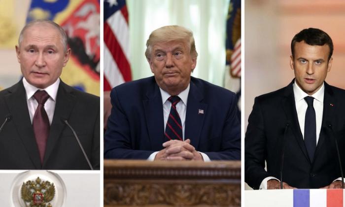 Putin, Tramp və Makron Qarabağla bağlı birgə bəyanat verib