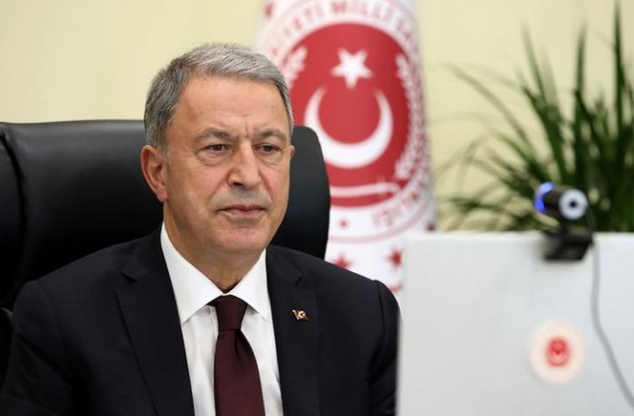 """Hulusi Akar: """"Türkiyə Azərbaycanı dəstəkləməyə davam edəcək"""""""
