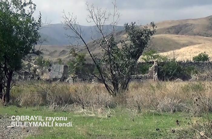 İşğaldan azad olunmuş daha bir kəndin videogörüntüsü – VİDEO