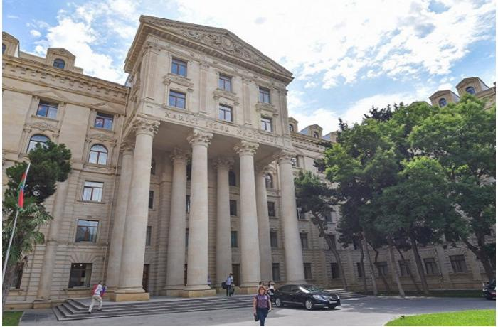 Baku reacts to Armenian MFA's statement
