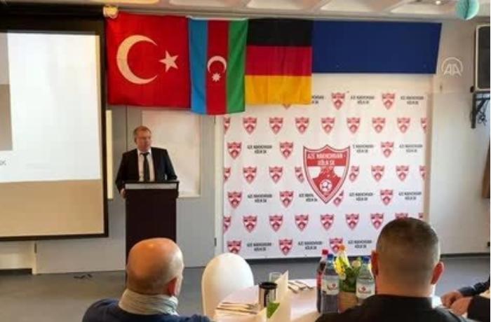 """Almaniyada """"AZE Nakhcivan-Köln """" futbol klubu rəsmən fəaliyyətə başladı"""