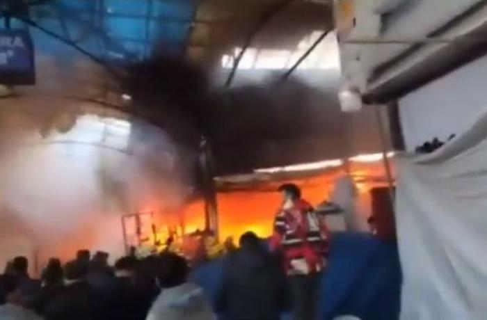 """""""Sədərək""""dəki yanğından yeni görüntülər - VİDEO"""