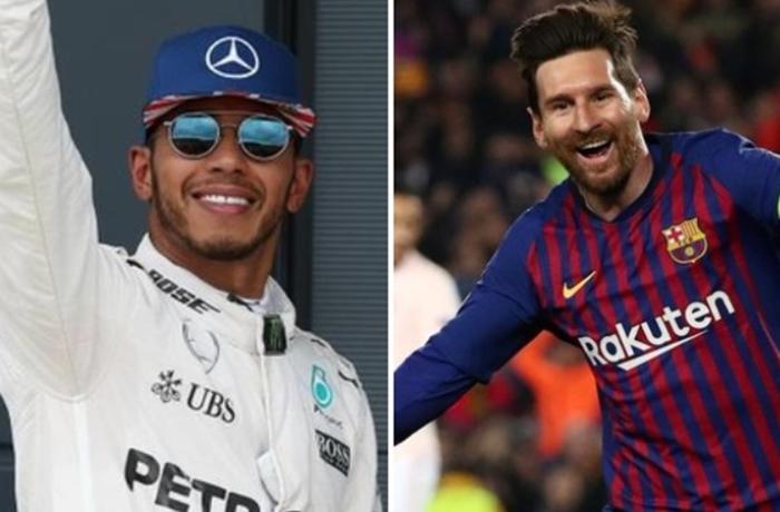 Messi və Hemilton ilin ən yaxşı idmançıları seçildilər