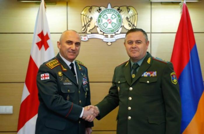 Gürcüstan Ermənistanla hərbi əməkdaşlığı müzakirə etdi