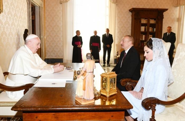 """Papa Fransisk: """"Azərbaycan əsl tolerantlıq nümunəsidir"""""""