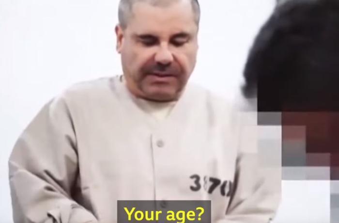 Məşhur mafia liderinin həbsxanada çəkilən görüntüləri ortaya çıxdı - VİDEO