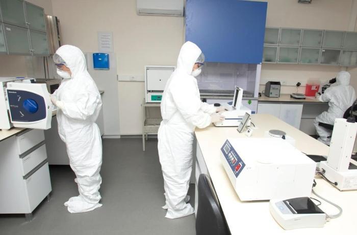 Azərbaycanda koronavirus təhlükəsi ilə bağlı laboratoriyalar fəaliyyət göstərir - FOTOLAR