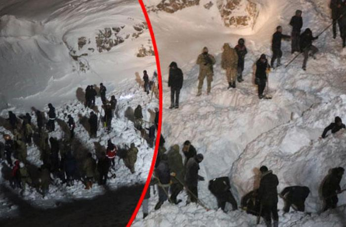 Nearly 50 people trapped in Turkey avalanche