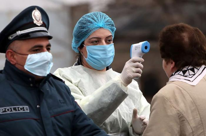 Ermənistanda koronavirusa yoluxanların sayı kəskin artıb