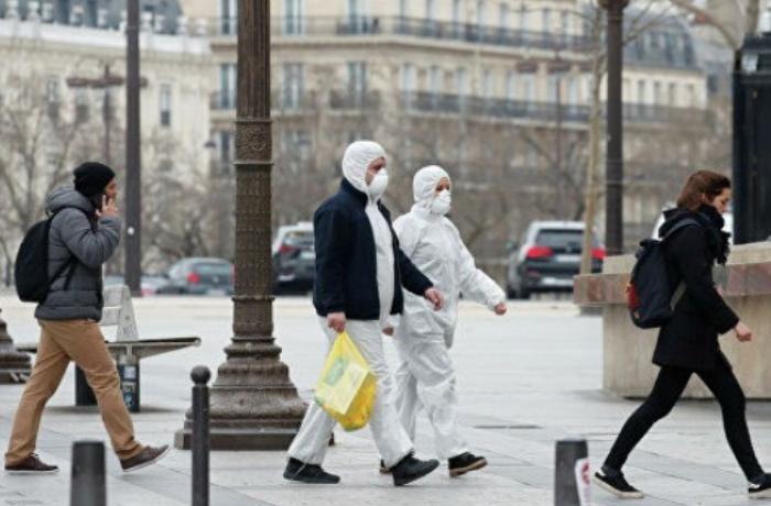 Fransada koronavirusdan ölənlərin sayı 2600 nəfəri ötdü