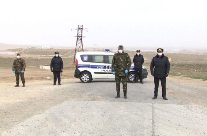 Polis Bakı, Sumqayıt və Abşerona aparan ara yollarda postlar qurub - FOTO