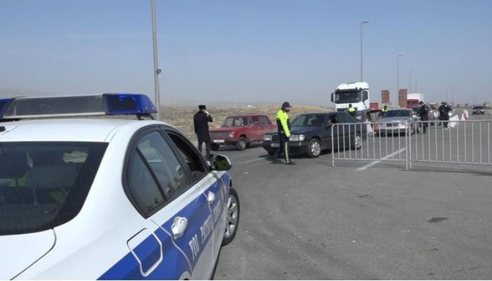 Polis Bakıya giriş qadağasını pozan 46 nəfəri cərimələdi