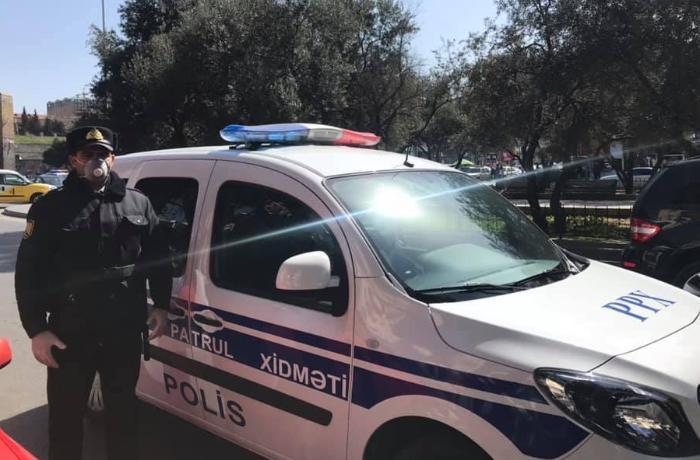 Bakı polisi bu gündən cərimələrə başladı - FOTO