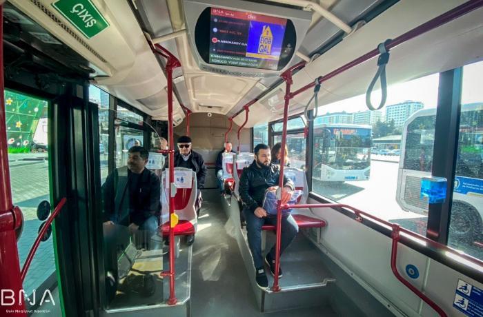 Bu gündən avtobuslarda sərnişinlər belə oturacaq - FOTO